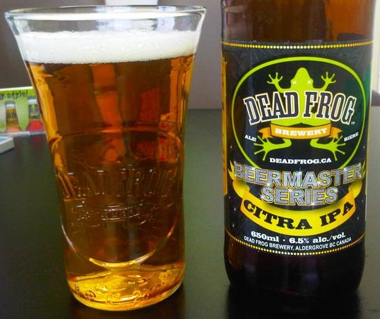 deadfrog Taste test   Citra IPA