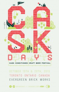 Cask Days 2013 Poster