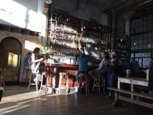 Inside Magnolia's new Smokestack in San Francisco.