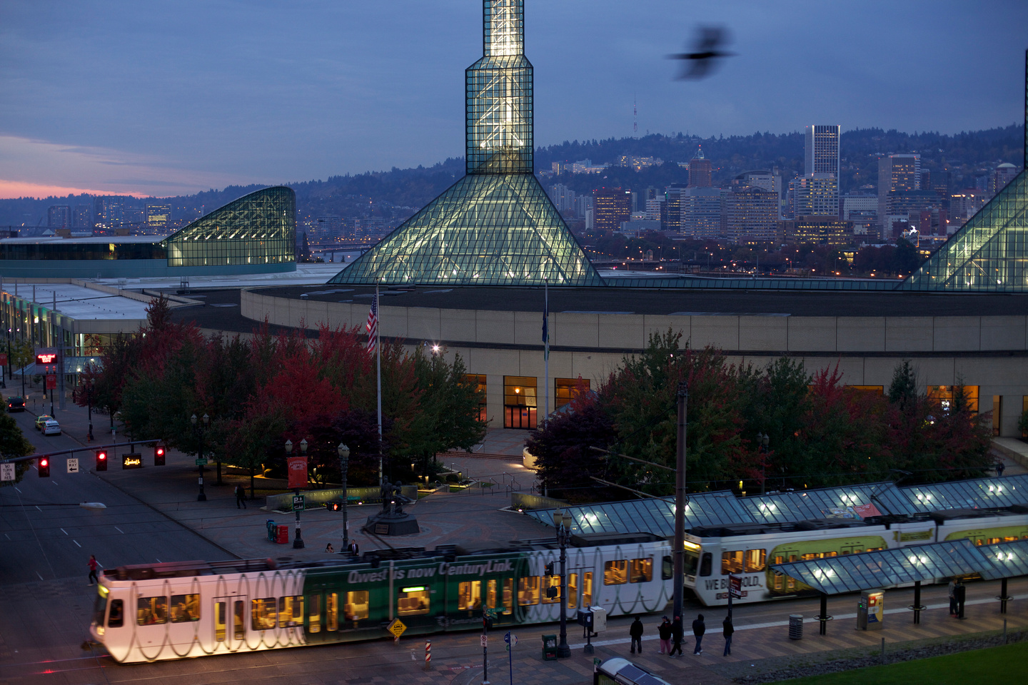 The CBC's host venue, the Oregon Convention Center. Photo courtesy travelportland.com.