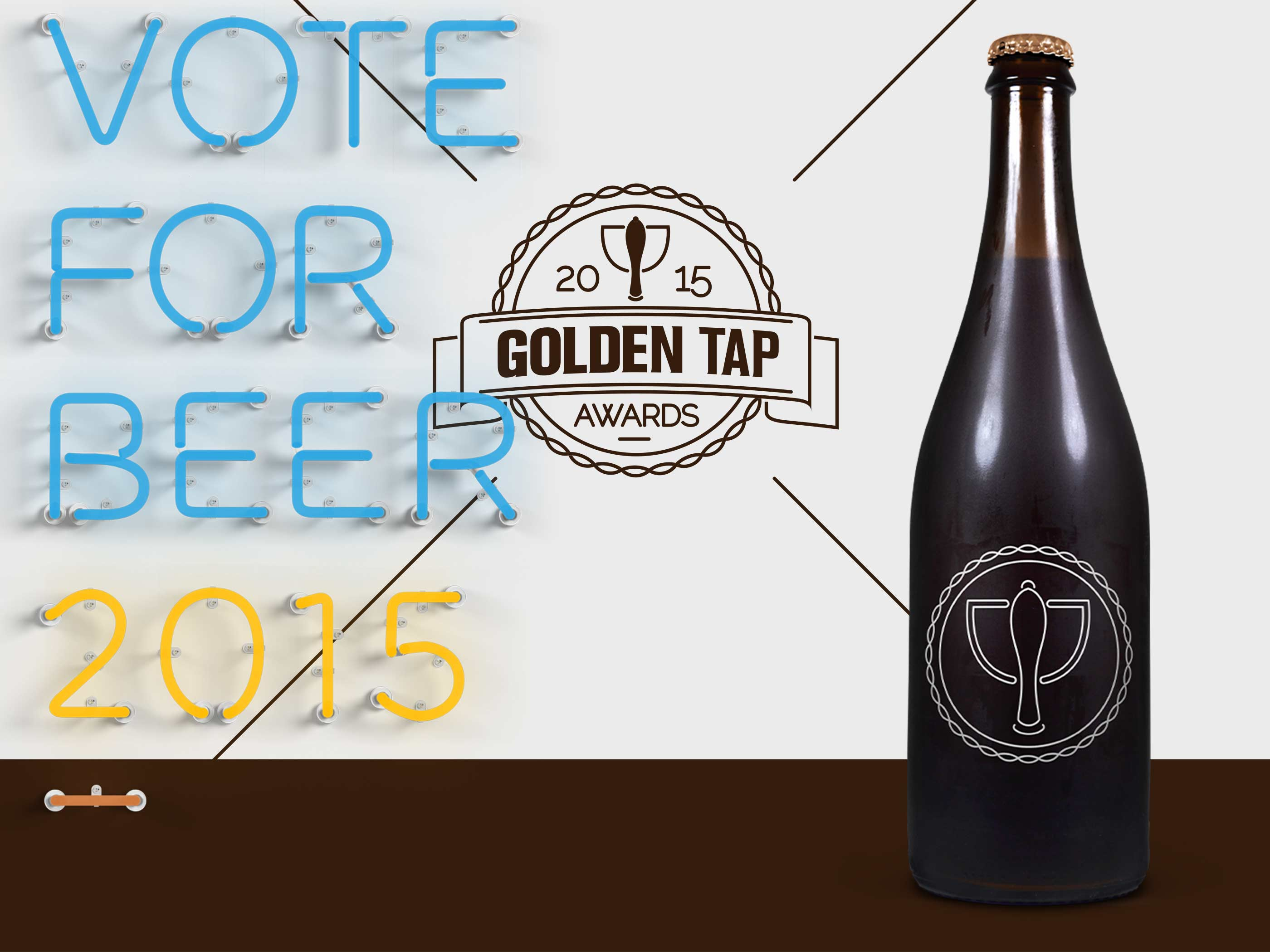 Vote for the 2015 Golden Tap Awards