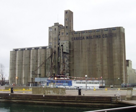 An old Canada Malting facility