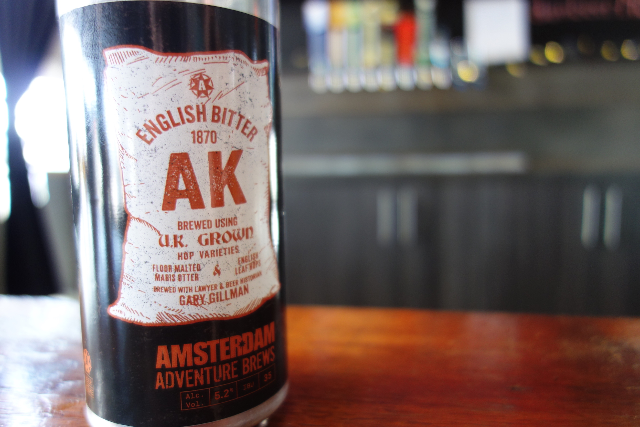 Drink like it's 1870 with Amsterdam and Gary Gillman's AK